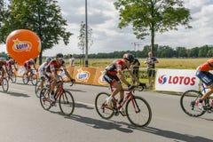 Tour de Pologne 2017 Royalty Free Stock Image