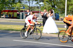 Tour de Pologne 2015 road bicycle race, Warsaw Royalty Free Stock Image