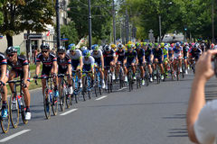 Tour de Pologne 2015 road bicycle race, Warsaw Royalty Free Stock Photography