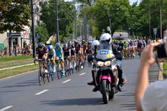 Tour de Pologne 2015 road bicycle race, Warsaw Stock Image