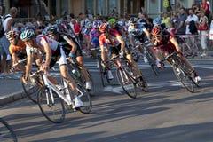 Tour de Pologne, the step in Zakopane Stock Images