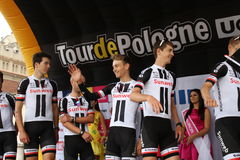 Tour de Pologne 2017 SUNWEB στοκ φωτογραφία με δικαίωμα ελεύθερης χρήσης