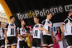 Tour De Pologne 2017 SUNWEB royalty free stock photography