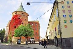 Tour de poudre de Riga Photographie stock