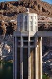 Tour de prise au barrage de Hoover Images stock