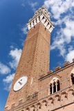 Tour de puissance Piazza del Campo Photos stock
