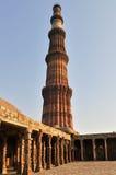 Tour de Qutub Minar Images libres de droits