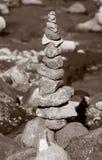 Tour de roche Photo libre de droits