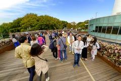 Tour de Séoul de parc de Namsan : Corée Images stock