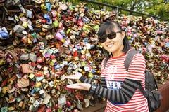 Tour de Séoul de parc de Namsan : Corée Photographie stock