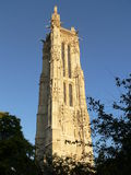 Tour de Saint Jacques, Paris ( France ) Royalty Free Stock Photography