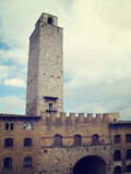 Tour de San Gimignano Photographie stock libre de droits