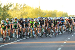 2013 Tour DE Scottsdale Cycling Stock Afbeelding