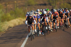 2013 Tour de Scottsdale Cycling Royalty Free Stock Images