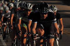 2012 Tour de Scottsdale cycling race Royalty Free Stock Image