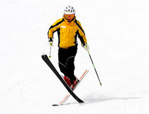 Tour de ski. Images stock