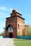 Tour de Spasskaya de Kremlin Image libre de droits