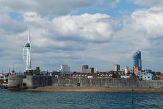 Tour de spinnaker, Portsmouth Image libre de droits