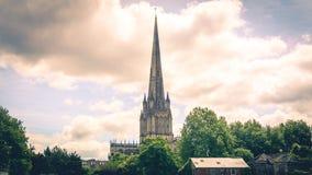 Tour de St Mary Redcliffe East Side Bristol Angleterre Image libre de droits