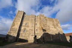 Tour de subsistance de château de Douvres Photographie stock