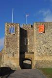 Tour de subsistance de château de Douvres Photographie stock libre de droits