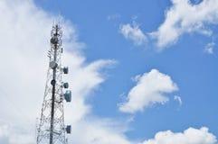 Tour de télécom Image libre de droits