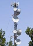 Tour de télécommunication photos libres de droits