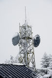 Tour de télécommunication Photos stock