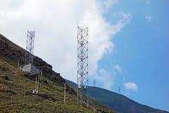Tour de télécommunication Photo stock