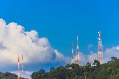 Tour de télécommunication Image stock