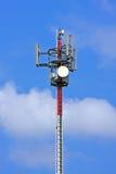 Tour de télécommunication de GM/M Photographie stock