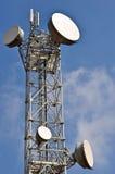 Tour de télécommunications Photo libre de droits