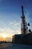 Tour de télécommunications Images stock