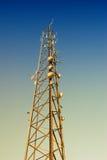Tour de télécommunications Photos stock