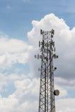 Tour de télécommunications Images libres de droits