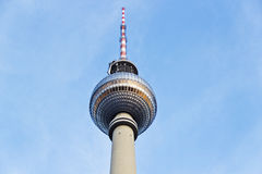 Tour de télévision, Berlin Photographie stock libre de droits