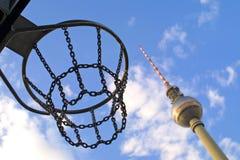 Tour de télévision de Berlin Images libres de droits