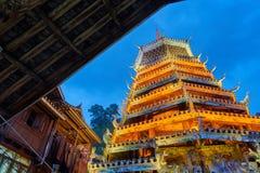Tour de tambour, Chine images libres de droits