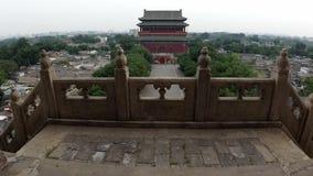 Tour de tambour de P?kin, Chine banque de vidéos