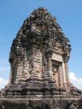 Tour de temple de Bakong à l'est de Siem Reap Photographie stock