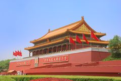 tour de tiananmen de porte Photographie stock libre de droits