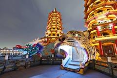 Tour de tigre de dragon Photographie stock libre de droits