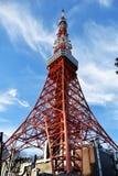 Tour de Tokyo avec le jour ensoleillé lumineux Image stock
