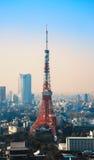 Tour de Tokyo dans la salle de Minato images libres de droits