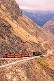 Tour de train, nez de diables, Nariz Del Diablo Image libre de droits