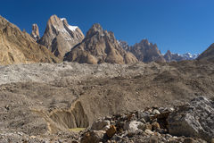 Tour de Trango et famille, K2 voyage, Skardu, Gilgit Baltistan, Paki Photographie stock