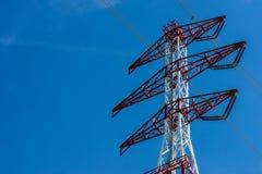 Tour de transmission électrique Photographie stock