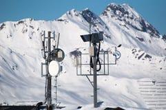 Tour de transmission et livecam Image libre de droits