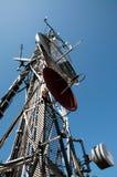 Tour de transmission : GM/M, UMTS, 3G et radio Image libre de droits