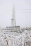 Tour de transmission par radio figée Image stock
